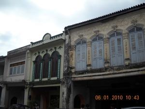 Phuket old Town & Sino Protugist Building